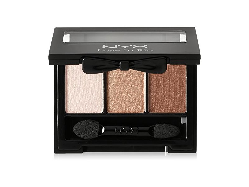 NYX Professional Makeup Love in Rio Eyeshadow Palette, Bikini Bottom, 0.11 oz