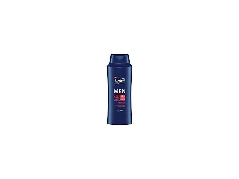 Suave Men 2-In-1 Thick & Full Shampoo, 28 fl oz