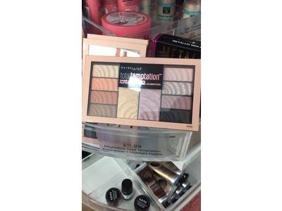 Maybelline Total Temptation Eyeshadow + Highlight Palette, 0.42 oz. - Image 4