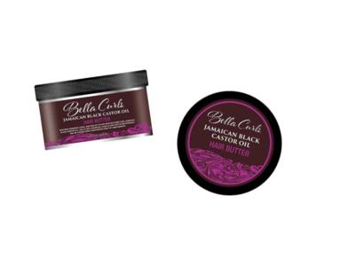 Bella Curls Jamaican Black Castor Oil Hair Butter,12 fl oz