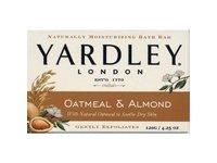 Yardley of London Oatmeal & Almond Bar Soap Yardley, 4.25 oz - Image 2