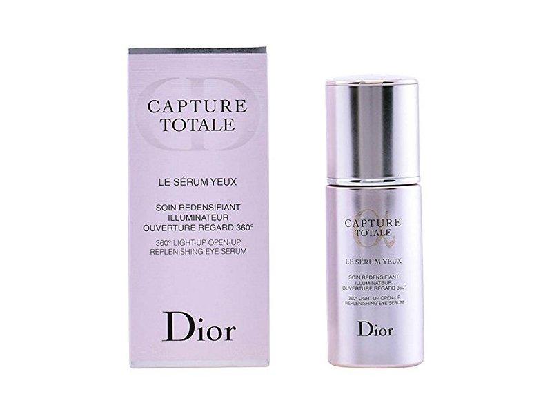 Christian Dior Capture Totale 360 Light-Up Open-Up Replenishing Eye Serum, 0.5 Fluid Ounce