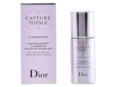 Christian Dior Capture Totale 360 Light-Up Open-Up Replenishing Eye Serum, 0.5 Fluid Ounce