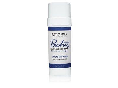 Rustic Maka Pachy Natural Deodorant Rough Rivers - For Men, 2 oz