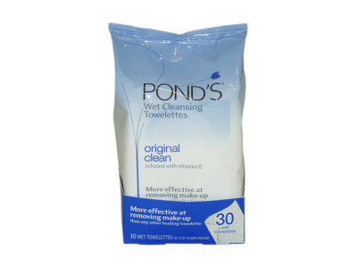 Pond's Original Fresh Wet Cleansing Towelettes, 30 count - Image 1