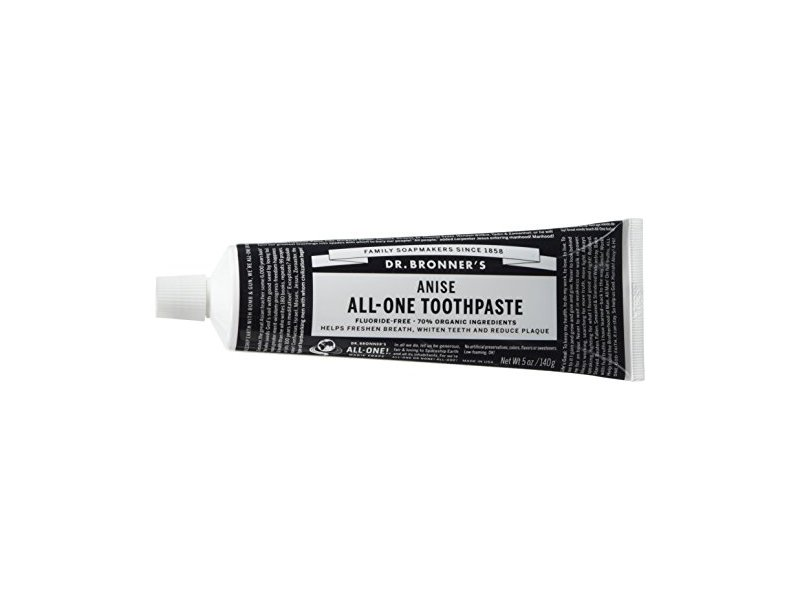 Dr. Bronner's Magic Soaps Toothpaste, Anise, 5 oz