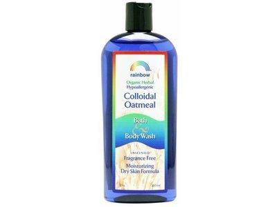 Rainbow Colloidal Oatmeal Body Wash, Unscented,12 fl oz