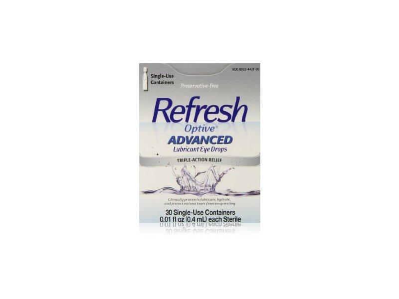 Refresh Optive Preservative-free Lubricant Eye Drops, Allergan