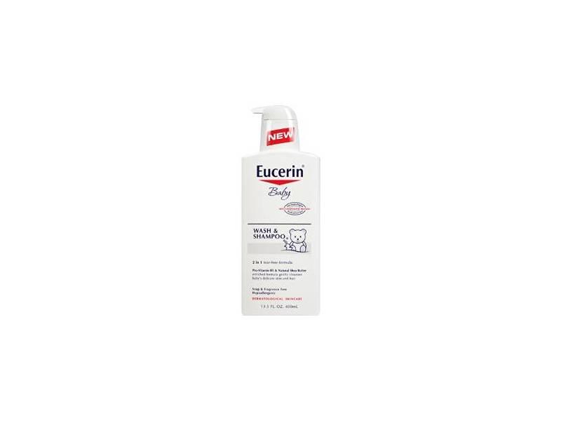 Eucerin Baby Wash & Shampoo, 13.5 fl oz