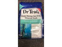Dr Teal's Deep Marine Sea Mineral Soak, Purify & Hydrate, 3 lbs - Image 3