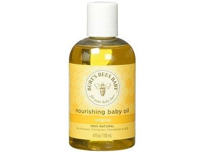 Burt's Baby Bee Nourishing Baby Oil, 4 fl oz