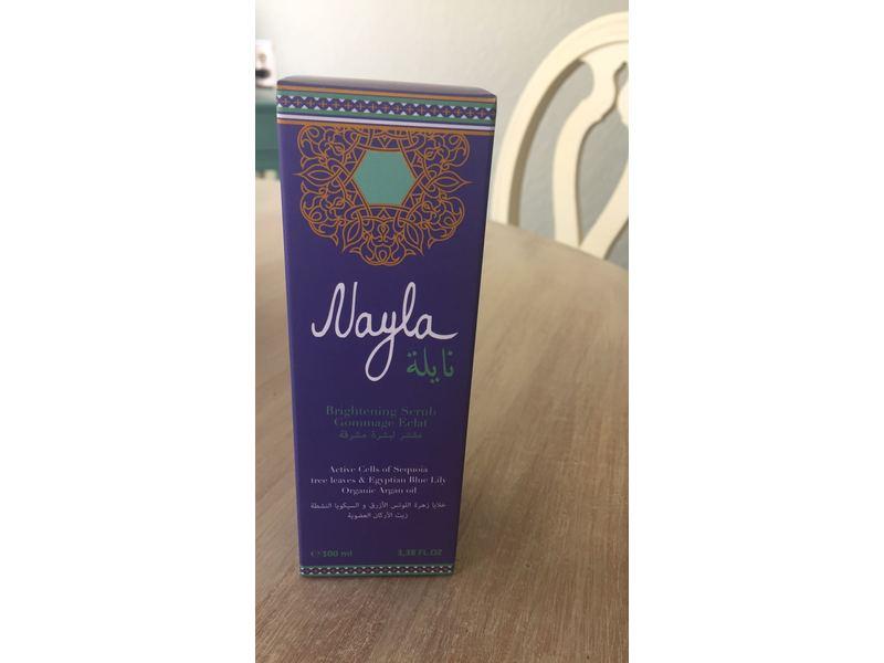 Nayla Brightening Scrub, 100 mL