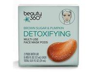 Beauty 360 Brown Sugar & Pumpkin Detoxifying Multi-Use Face Mask Pods - Image 2