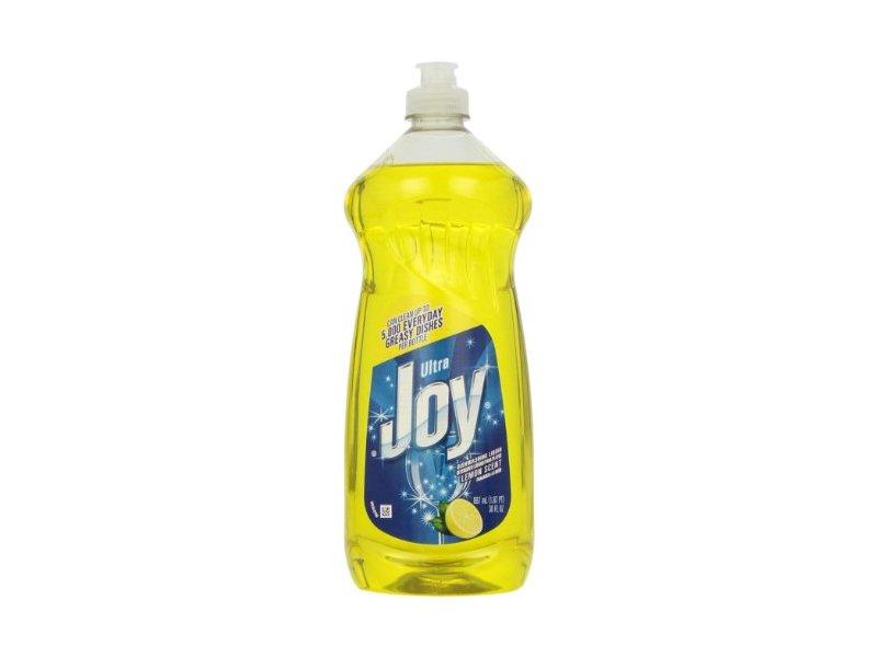 Joy Ultra Dishwashing Liquid, Lemon Scent, 30 fl oz