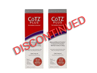 CoTZ Plus Water Resistant Sunscreen, SPF 58, 2.5 oz