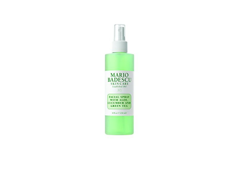 Mario Badescu Skin Care Facial Spray, Aloe Cucumber and Green Tea, 8 fl oz
