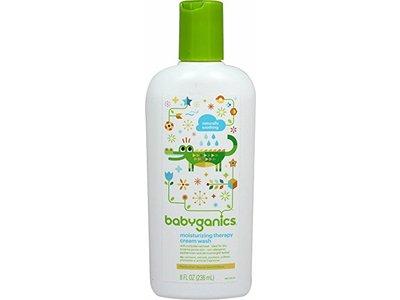 Babyganics Moisturizing Therapy Cream Wash, 8 fl oz