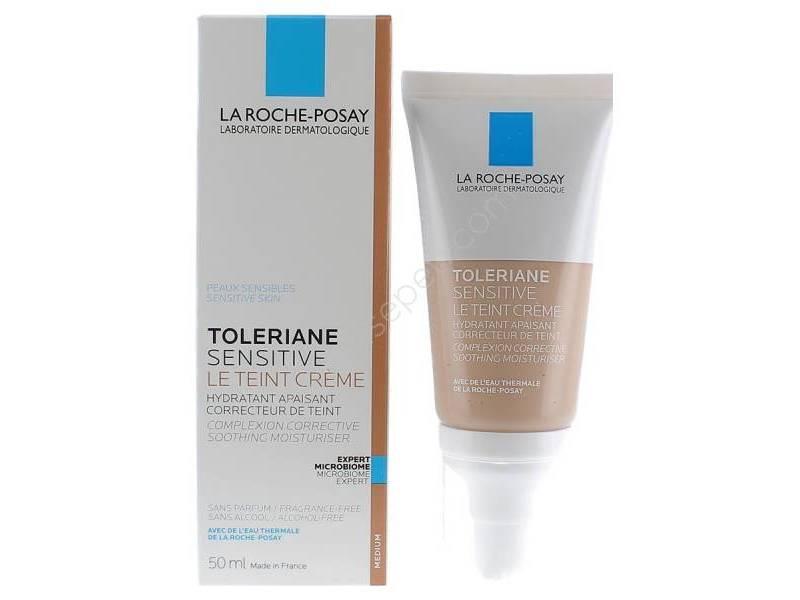 La Roche Posay Toleriane Sensitive Le Teint Creme Light, 50 mL