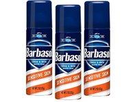 Barbasol Shave Cream Sensitive Skin Travel size 2 oz (Pack of 3) - Image 2