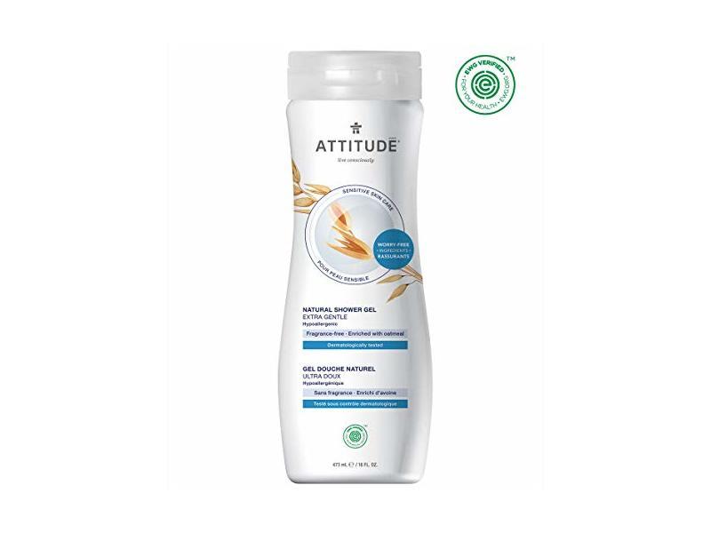 Attitude Natural Shower Wash, 16 fl oz