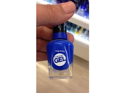 Sally Hansen Miracle Gel Nail Polish, Tidal Wave, 0.5 Ounce - Image 5