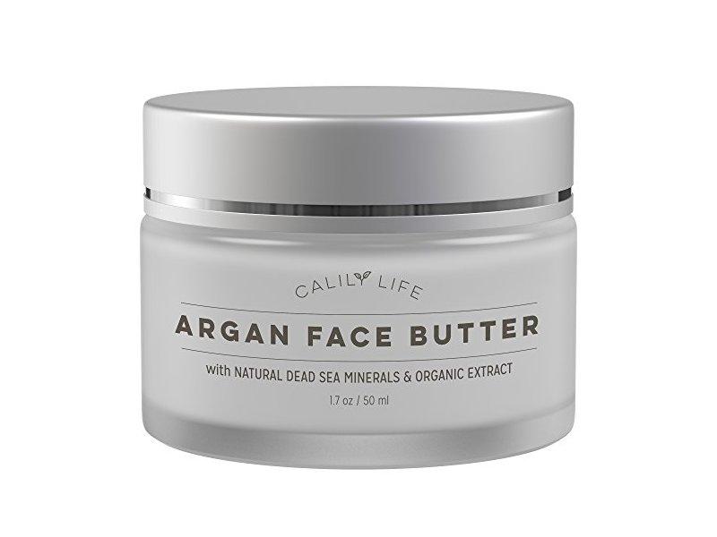 Calily Life Organic Argan Face Cream with Dead Sea Minerals, 1.7 Oz.