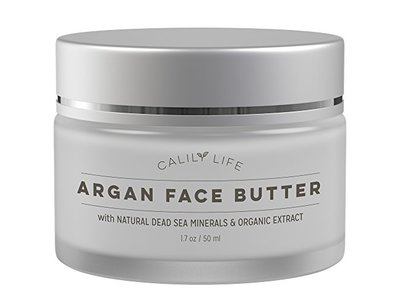 Calily Life Organic Argan Face Cream with Dead Sea Minerals, 1.7 Oz.