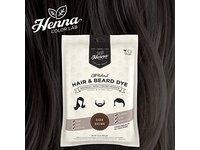 Henna Color Lab Henna Hair Dye (Dark Brown) - Image 1