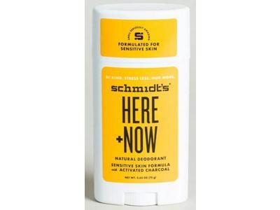 Schmidt's Here + Now Natural Deodorant, 2.65 oz