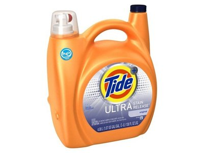 Tide Ultra Stain Release High Efficiency Liquid Laundry Detergent, 138 Oz - Image 1