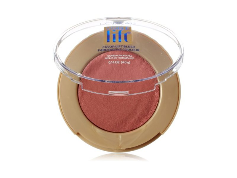 L'Oréal Paris Visible Lift Color Lift Blush, Berry Lift, 0.14 oz.