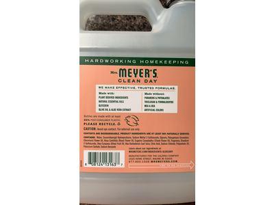 Mrs. Meyer'S Hand Soap Liquid Refill, Geranium, 33 fl oz - Image 4