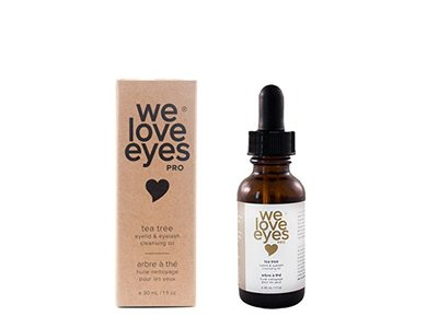 We Love Eyes Tea Tree Eyelid & Eyelash Cleansing Oil, 30ml
