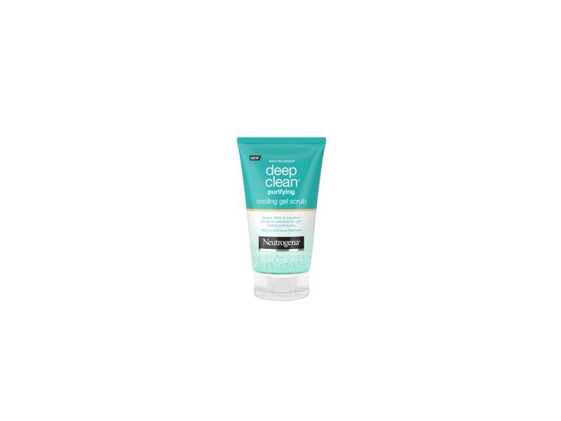 Neutrogena Deep Clean Purifying Cooling Gel and Face Scrub