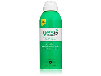 Yes to Cucumbers Cooling Hydrating Spray Mist, 5.2 Ounce