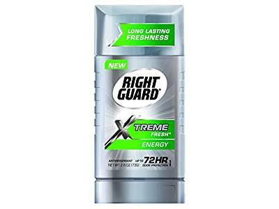 Right Guard Xtreme Fresh Antiperspirant, Energy, 2.60 oz