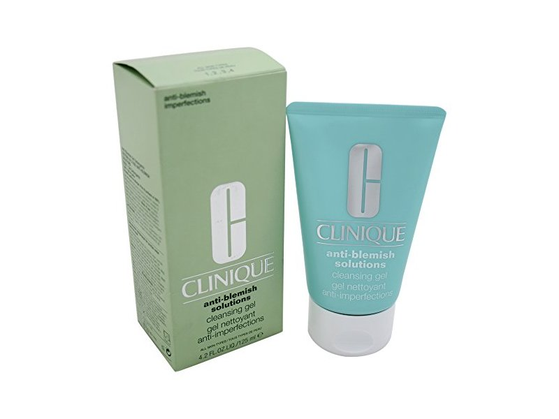 Clinique Unisex Anti-Blemish Solutions Cleansing Gel, 4.2 Ounce