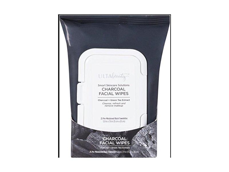Ulta Beauty Charcoal Facial Wipes 25 Count