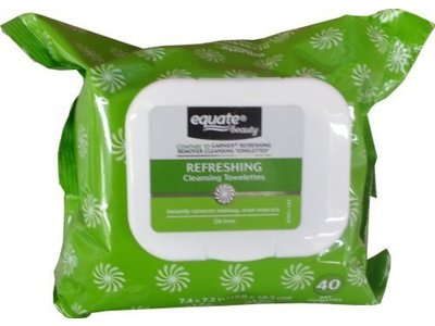Equate Refreshing Cleansing Towelettes, 40ct