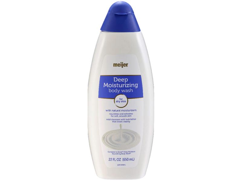 Meijer Deep Moisturizing Body Wash, 22 fl oz