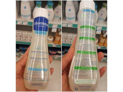 Mustela Gentle Shampoo, 200 mL - Image 3