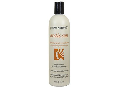 Prairie Naturals Arctic Sun Hypoallergenic Conditioner, 16.89 Fluid Ounce