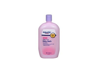 Equate Night-Time Baby Bath Hypoallergenic, 28 fl oz