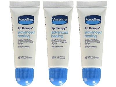 Vaseline Lip Therapy Advanced Petroleum Jelly, 0.35 oz - Image 3
