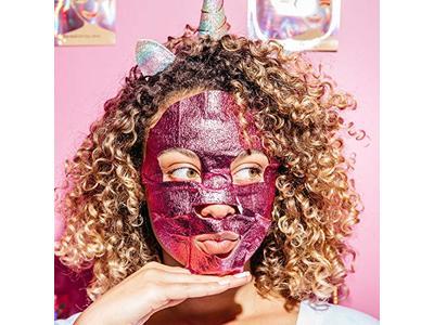 Yes To Grapefruit Vitamin C Glow-Boosting Unicorn Paper Mask - Single Use - Image 6
