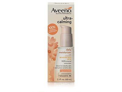 Aveeno Ultra-Calming Daily Moisturizer for Sensitive Skin with SPF 30, 2.3 fl. oz - Image 1