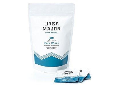 Ursa Major Essential Face Wipes, 20 count