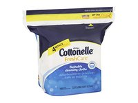 Cottonelle Fresh Care Flushable Moist Wipes Refill, 168ct - Image 6