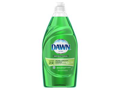 Dawn Ultra Antibacterial Hand Soap/Dishwashing Liquid, Apple Blossom, 8 fl oz