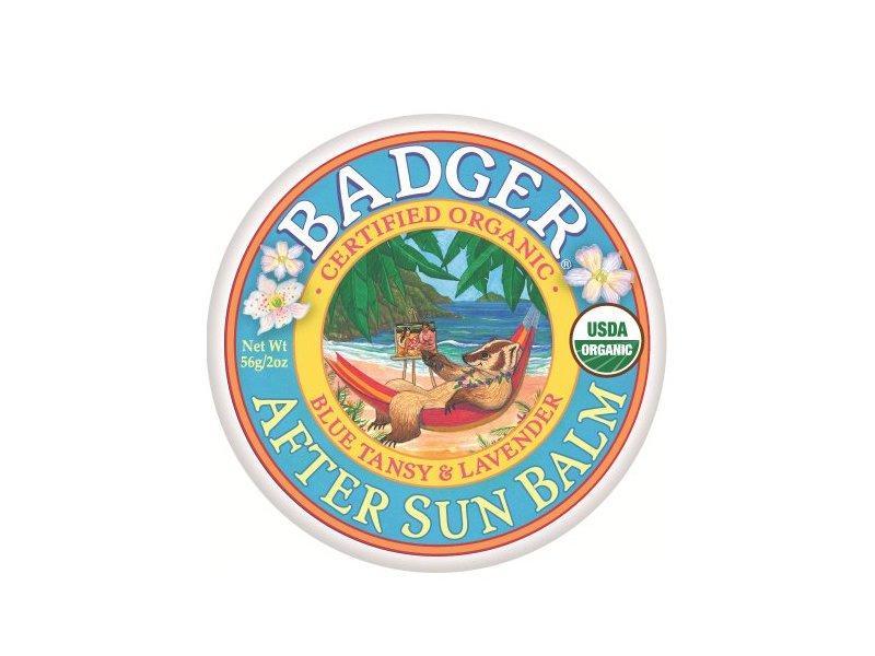 Badger After Sun Balm, Blue Tansy & Lavender, 2 oz